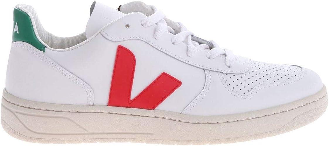 dolor de muelas Decepción Sabio  VEJA - Zapatillas para Hombre Blanco Blanco EU, Color Blanco, Talla 43 EU:  Amazon.es: Zapatos y complementos