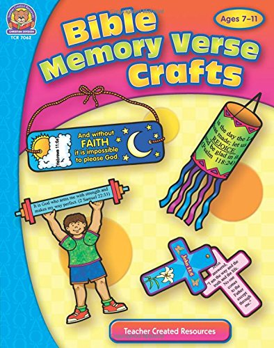 Bible Memory Verse Crafts (Bible Crafts) -