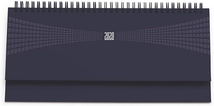 Giallo AGENDA 2019 PLANNING SETTIMANALE SPIRALATA 15x30 cm COPERTINA MATRA SCRIVANIA