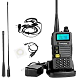 Quansheng UV-R50 2nd Gen Dual Band Two Way Radios, with 2 Antennas and USB Program Cable Ham Radios