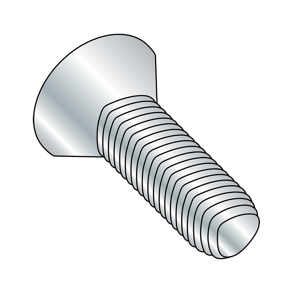 Type F Steel Thread Cutting Screw 5//16-18 Thread Size Pack of 10 Zinc Plated Finish Star Drive 3//4 Length Pan Head