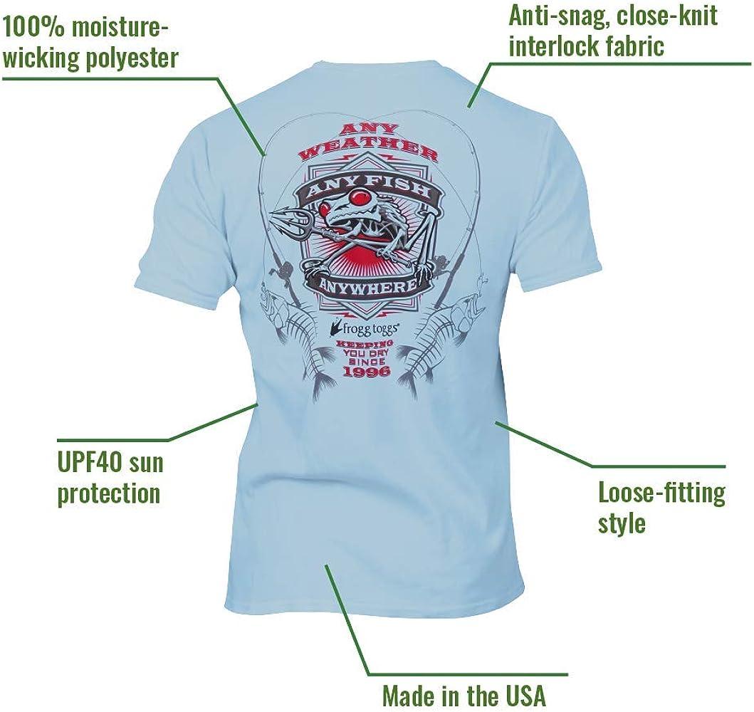 Short Sleeve Frogg Toggs Any Fish Anywhere T-Shirt