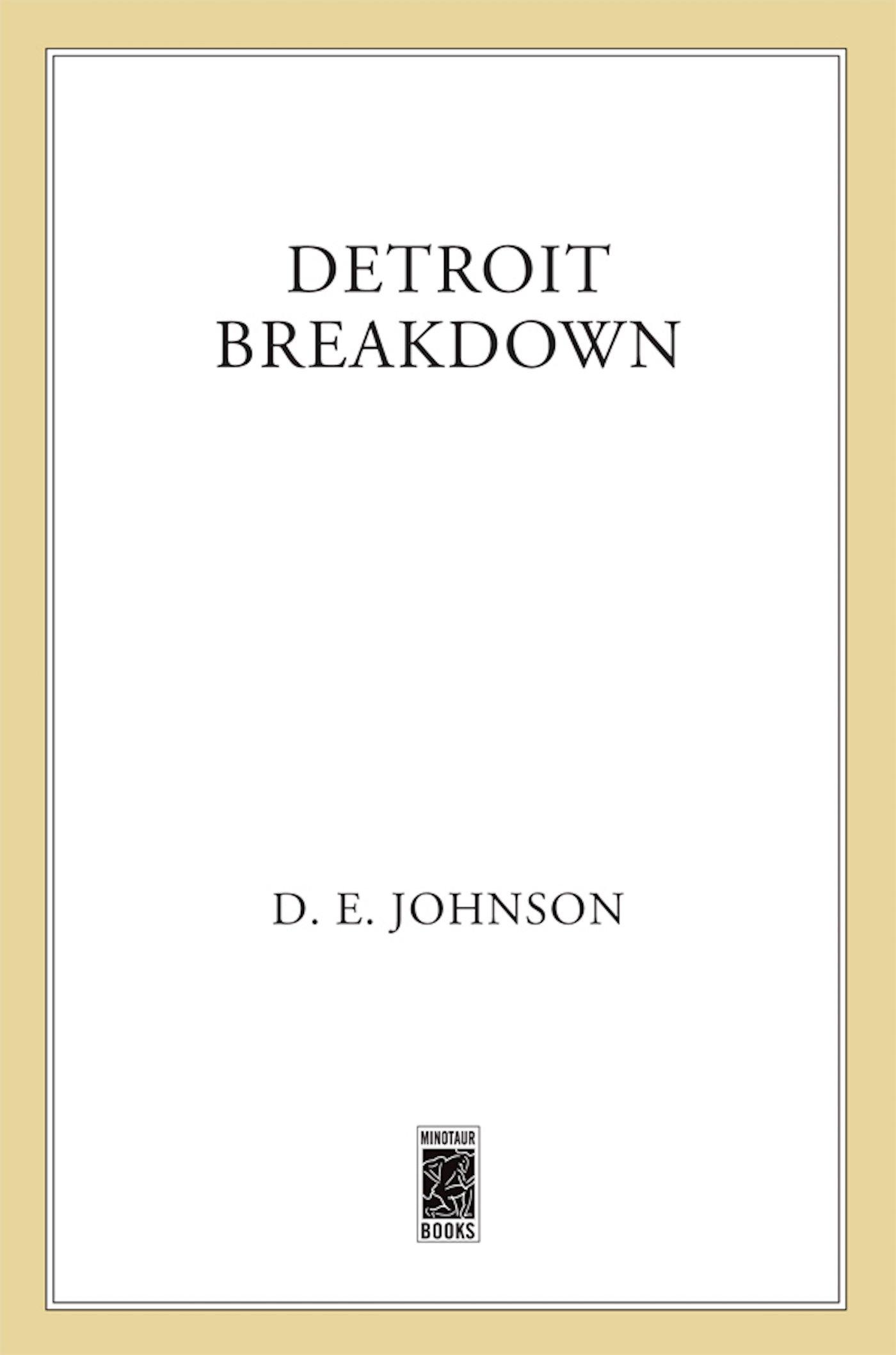 Detroit Breakdown (Detroit Mysteries) pdf
