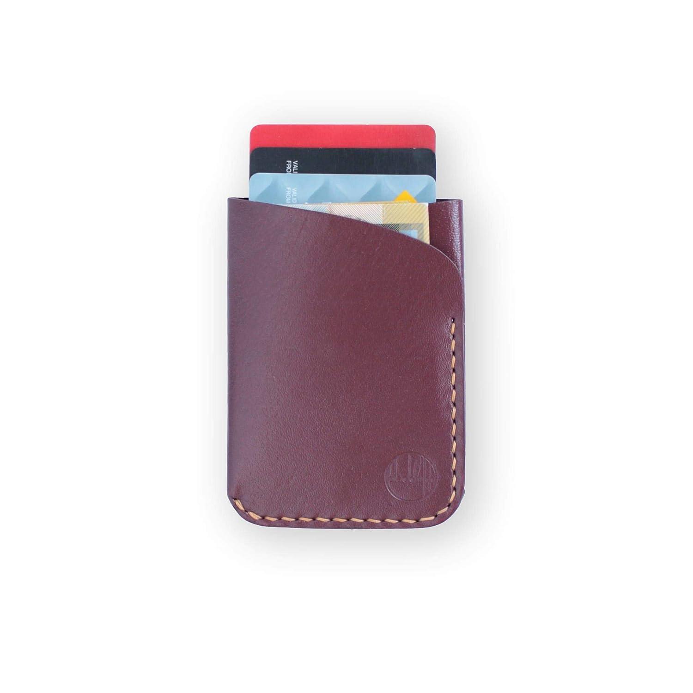 55b0bd07aeda0 Kangaroo Leather Wallet - Blackinkk The 'Two' Pocket Card Holder ...