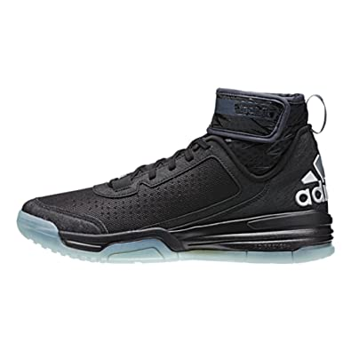 8caaa8a82558 where to buy adidas mens dual threat bb basketball shoes 6.5 black white  frozen blue b68a2