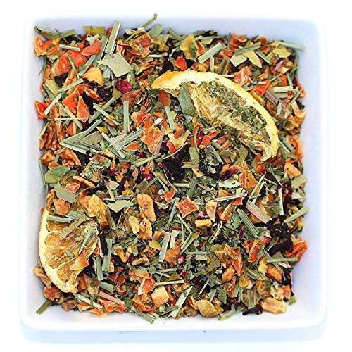 Tealyra - Orange Lemonade - Hibiscus - Eucalyptus - Lemongrass - Herbal Fruity Loose Leaf Tea Blend - Vitamins Rich - Boost Immune System- 100% Natural  Hot and Iced - Caffeine-Free - 110g (4-ounce)
