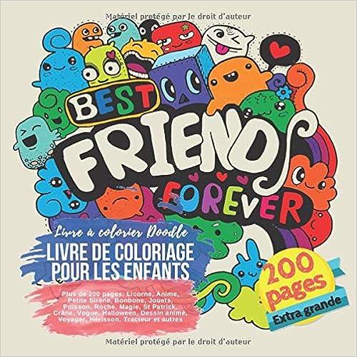 Livre De Coloriage Pour Les Enfants Plus De 200 Pages