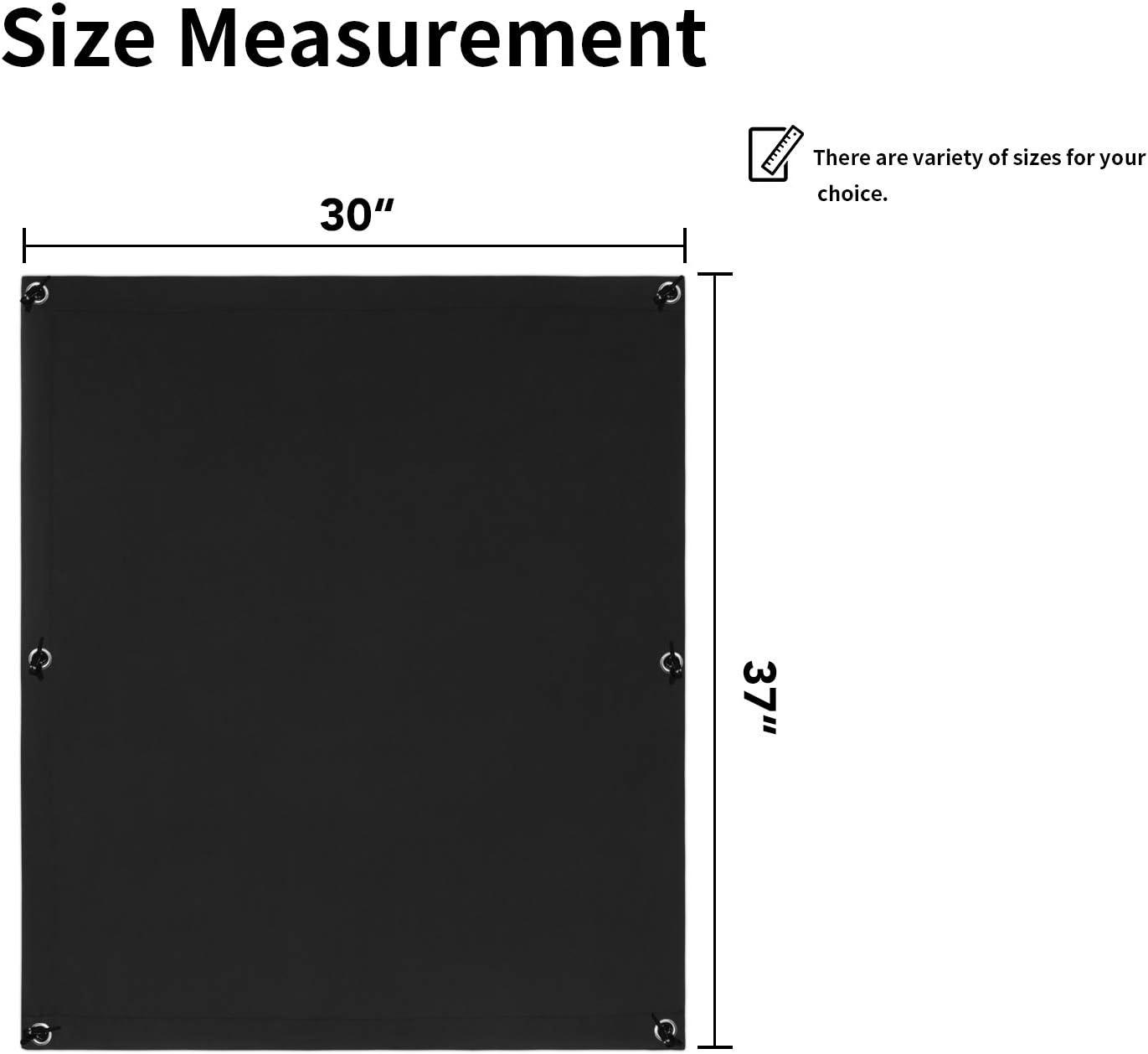 Greatime 100/% Ombrage Complet Rideau Rideau Ventouse pour Fenetre de Toit Portable Sotre Occultant /… Chocolat 38x75 cm