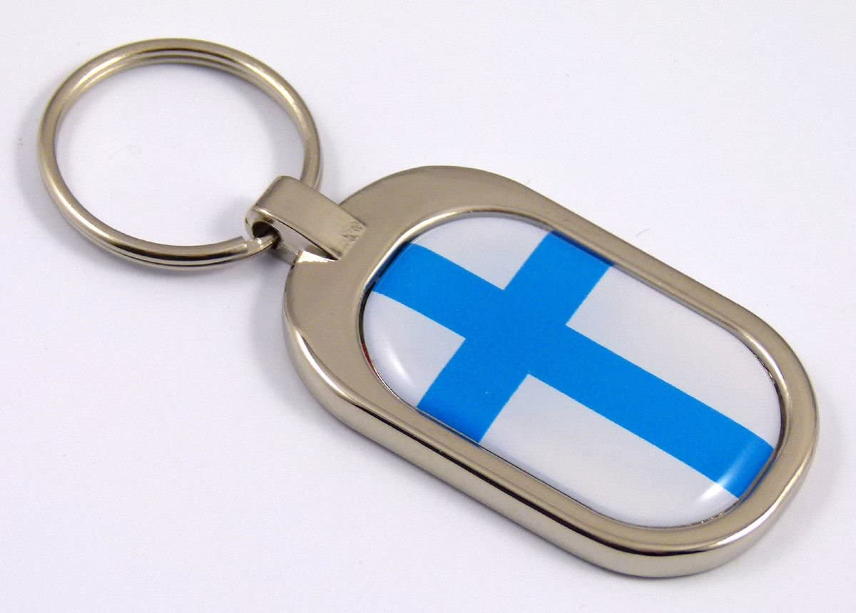 Germany Flag Key Chain metal chrome plated keychain key fob keyfob german Car Chrome Decals