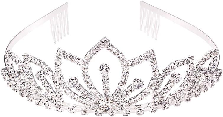 Stirnband Brautschmuck Haarreif Haarreifen Diadem Tiara Haarkette Hochzeit