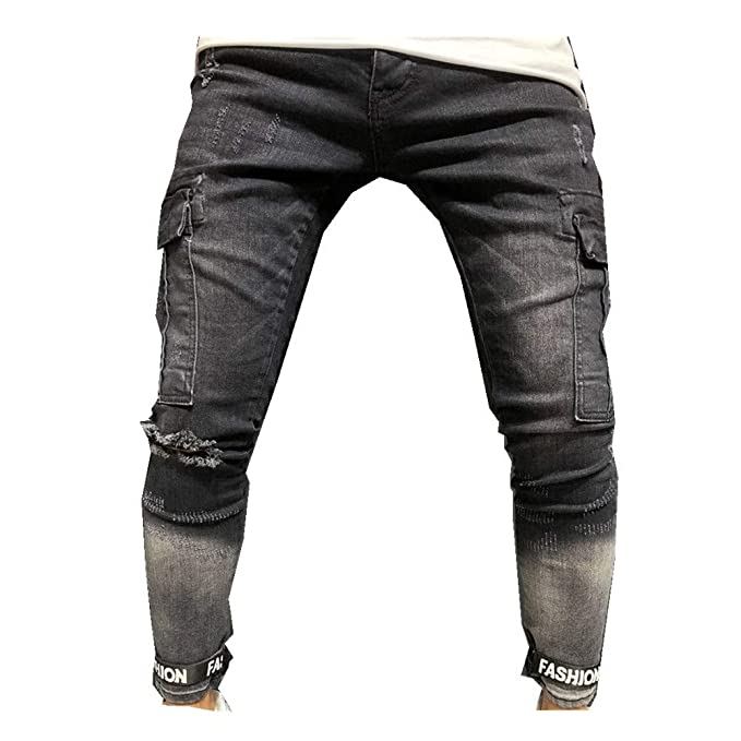 Amazon.com: GLVSZ - Pantalones vaqueros de ciclismo para ...
