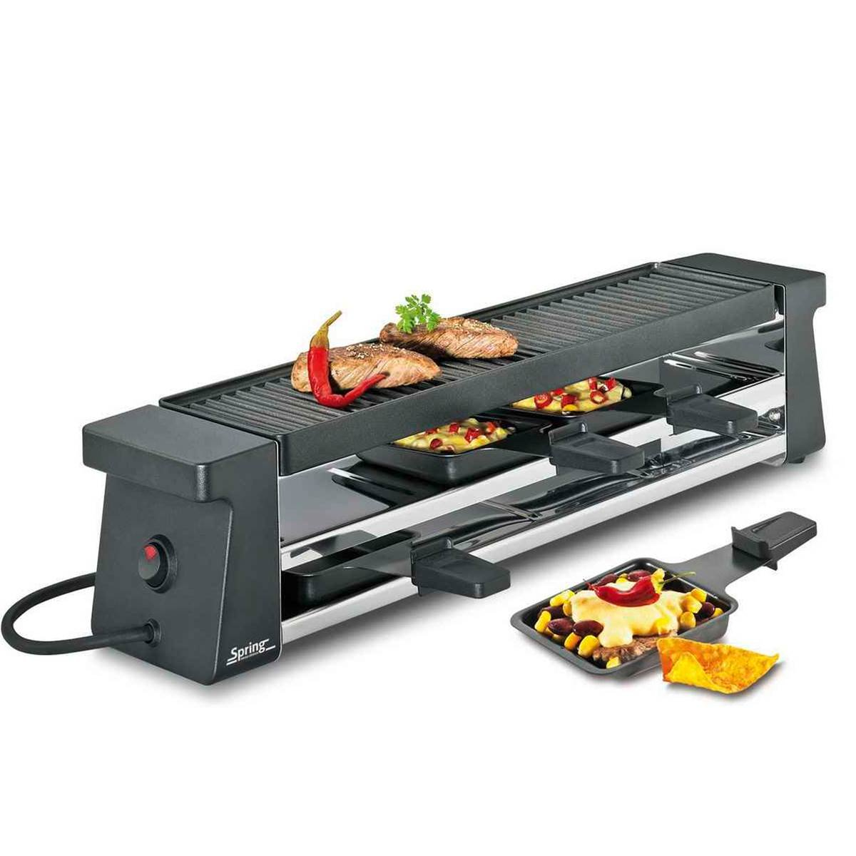 Unbekannt Spring Raclette 4 Compact Nero EU 3039007001