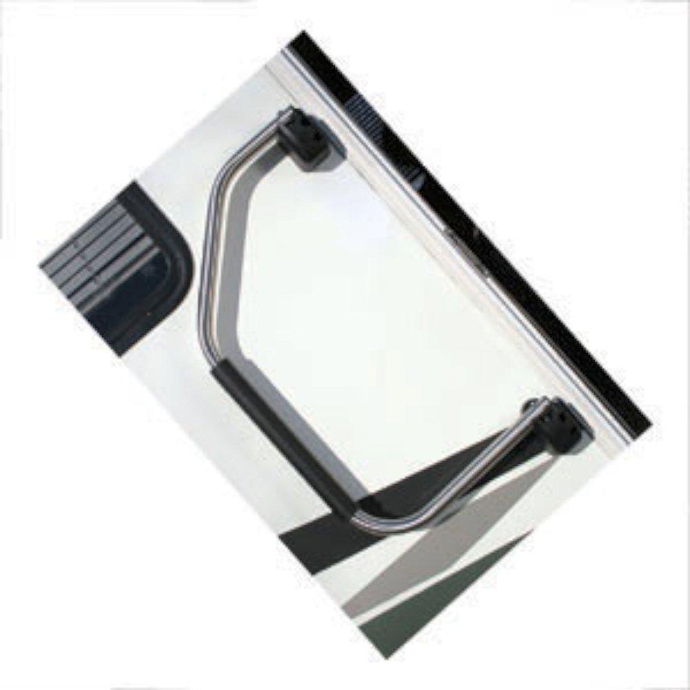 Lend-a-Hand Folding RV Handrail Satin Metal by Stromberg Carlson