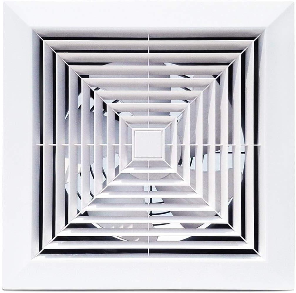 ASYCHEN Extractor de ventilación de Techo montado en Extractores Ventiladores domésticos bajo Nivel de Ruido de ventilación Ventilador, 12 Pulgadas for la Cocina Aseo baño