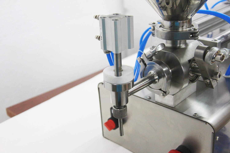 Pneumatic Filling Machine 50-500ml Semi-auto Pneumatic Liquid Filling with 40L Hopper Liquid Filling Machine for Liquid and Paste Filling (10-100ml) by Youlian (Image #5)