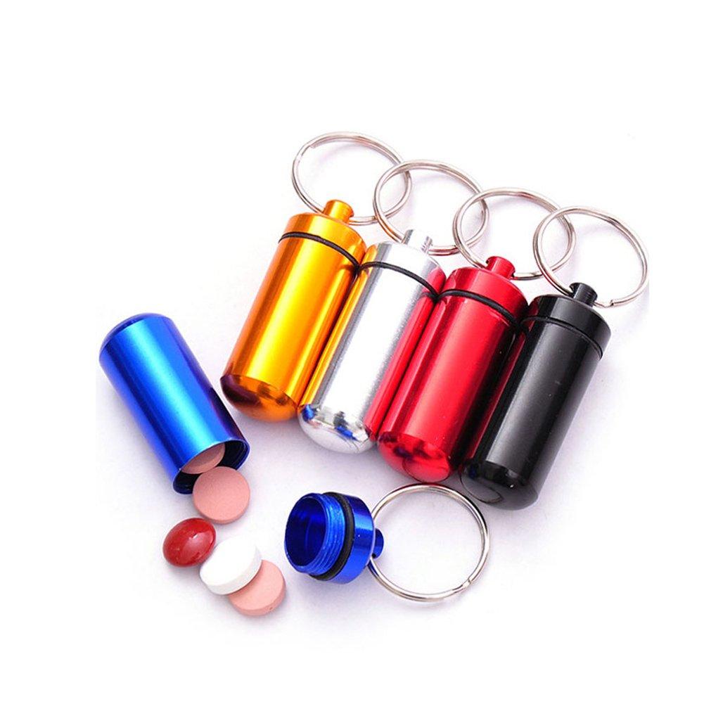 LAAT - Mini scatola portagioie, portapillole, scatola regalo confezionata, confezione da 6 pezzi