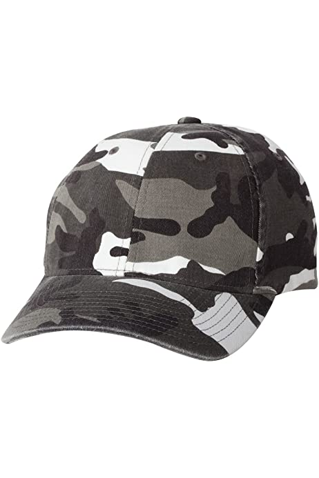 Camouflage Baseball Cap Camo Hat Military Army Mens Womens Flexfit 6977CA