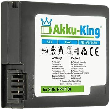 Akku King Akku Kompatibel Sony Dcr Hc1000 Dcr Ip1 Kamera