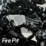 Midnight Black Reflective Fire Glass 1/2″ Firepit Glass Premium 10 Pound Great for Fire Pit Fireglass or Fireplace Glass