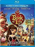 The Book of Life / La Legende de Manolo [Blu-ray + DVD + Digital HD] (Bilingual)
