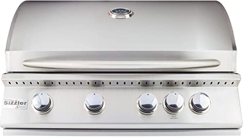 Summerset Sizzler 32-inch 4-burner Built-in Propane Gas Grill With Rear Infrared Burner – Siz32-lp