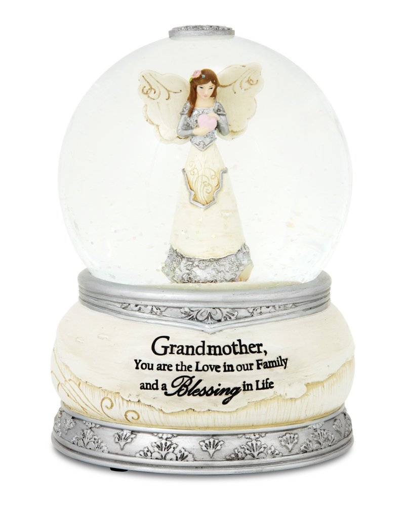 Pavilion Gift Company 82337 Grandmother 100mm Musical Water Globe and Figurine