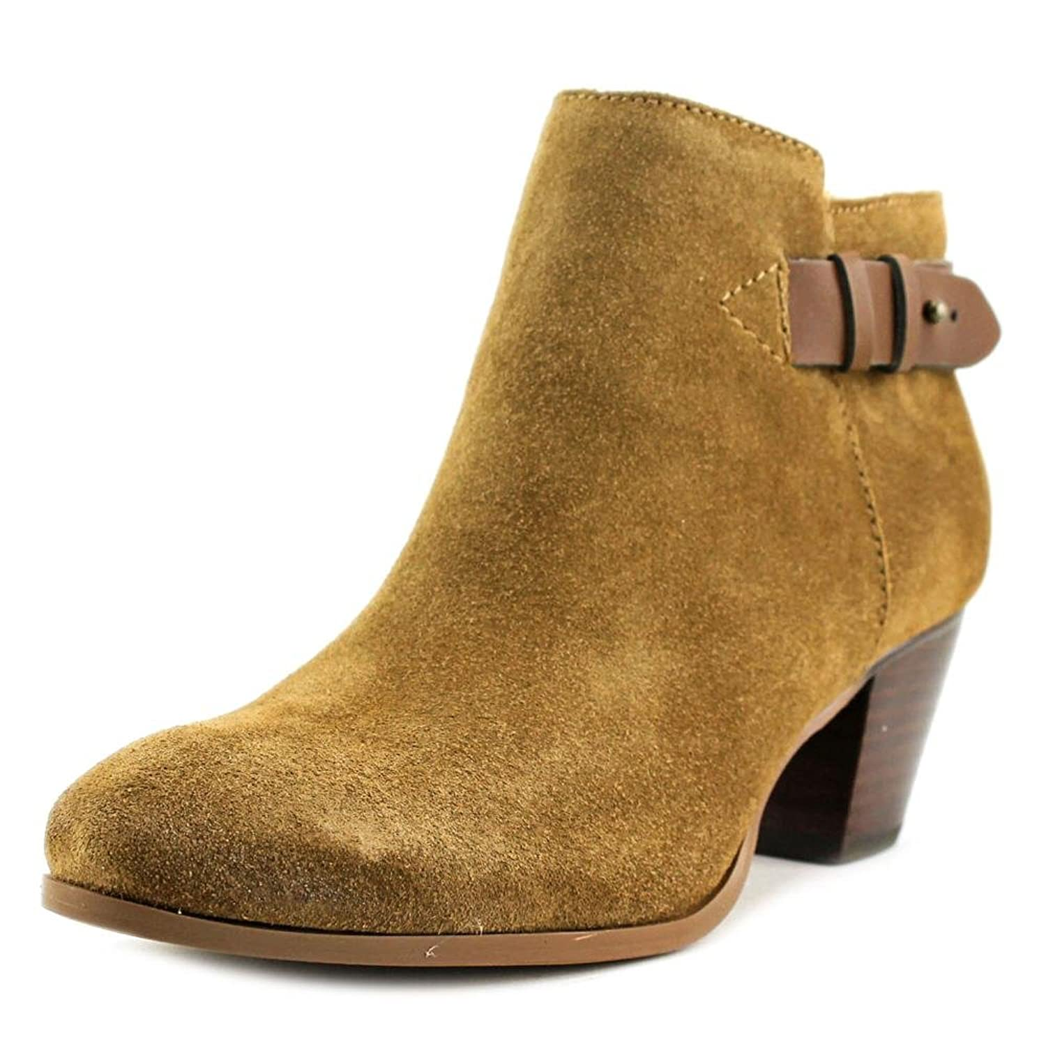 Guess Denice Round Toe Suede Bootie