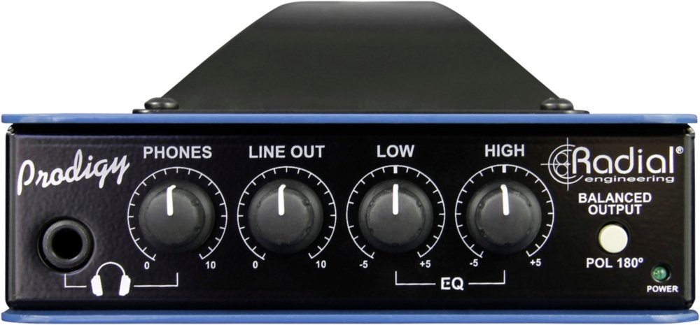 Radial Headload Prodigy Speaker Load Box w/DI and EQ