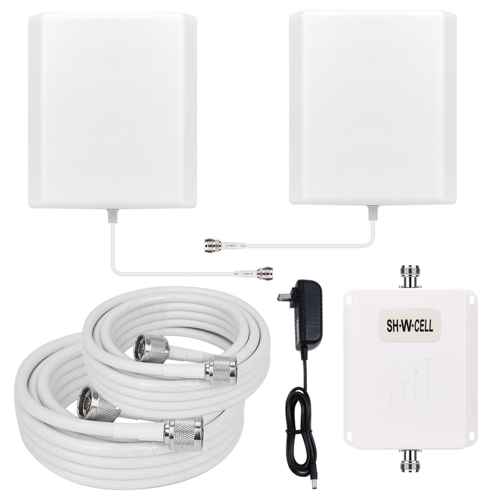Band13 700MHZ Verizon 4G LTE Cell Phone Signal Booster High Gain Mobile Repeater Amplifier SHWCELL Including Dual Panel Antennas For home use