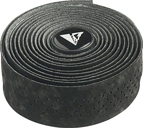 (Profile Design Perforated Road Bicycle Handlebar Tape (Black/Black))