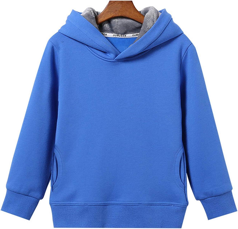 Gail Jonson Girls /& Boys Outerwear Warm Winter Fleece Jacket Hoody Kids Clothes for 2-10T