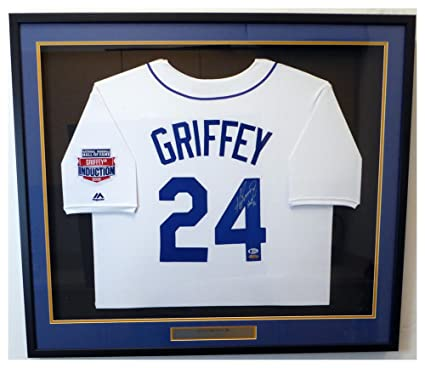 ab5323b190628e Seattle Mariners Ken Griffey Jr. Autographed Signed Framed White ...