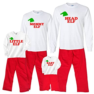 Amazon.com  Personalized Family of Elves Matching Christmas Holiday ... 1a1806e87