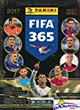 2017 Panini FIFA 365 Stickers HUGE 64 Page Collectors Album with 6 Bonus Stickers including Gareth Bale, Robert Lewandowski & More! Great Collectible to house all your NEW FIFA 365 Soccer Stickers!