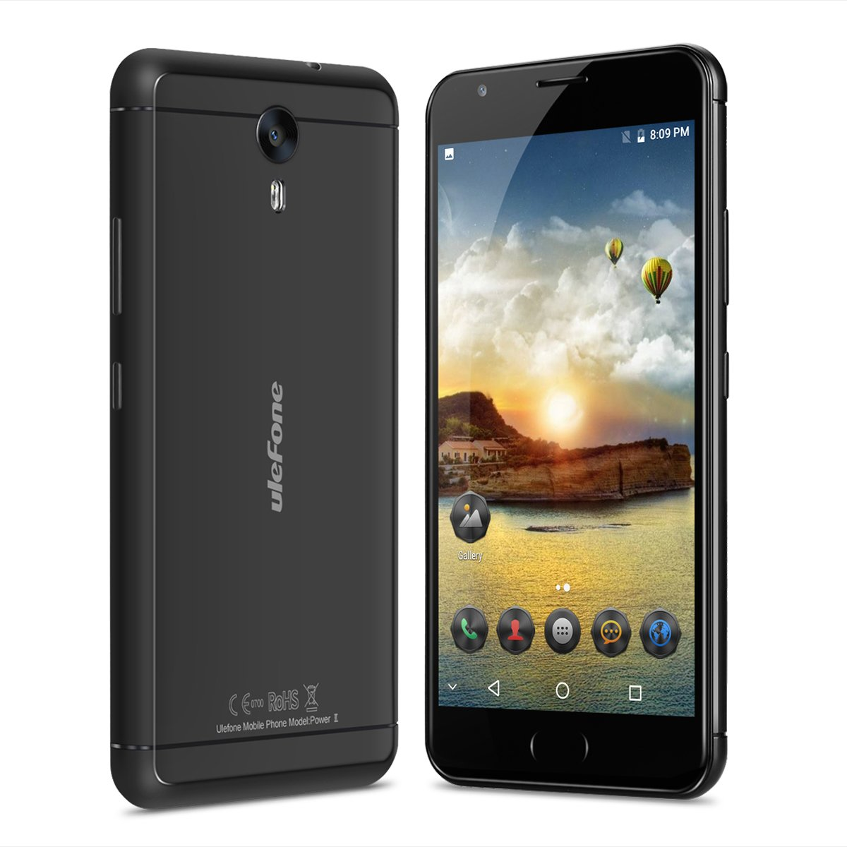 Ulefone Power 2 - 4G Smartphone Libre (Android 7.0, 5.5