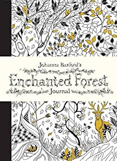 Johanna Basfords Enchanted Forest Journal Journals