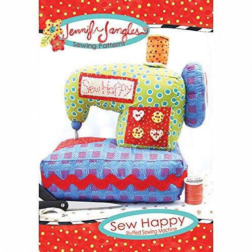 Amazon com: Jennifer Jangles Easy Sewing Pattern Sew Happy Sewing