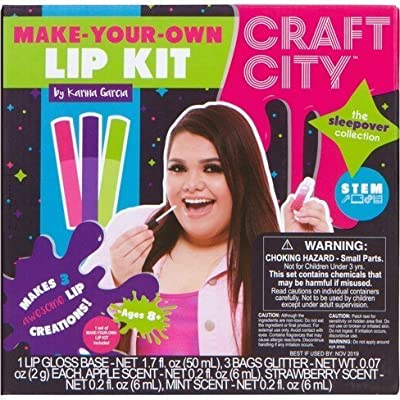 Craft City Karina Garcia Make Your Own Lip Kit: Toys & Games