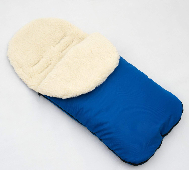 Chancelière universelle pour poussette laine confortable orteils pour siège auto Babycomfort
