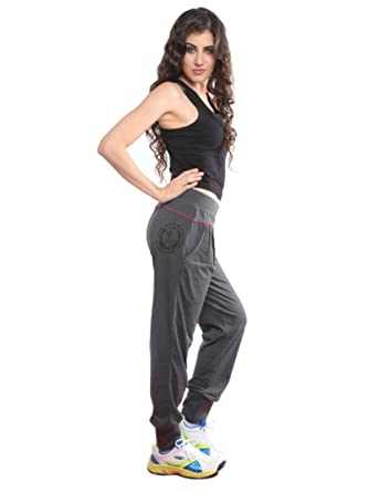 964d819b10f Lovable Women Girls Micro Fabric Track Pant Solid in Grey - Harem ...