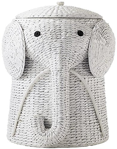 Animal Bathroom Hamper, 23''Hx18''Wx19''D, WHITE by Home Decorators Collection