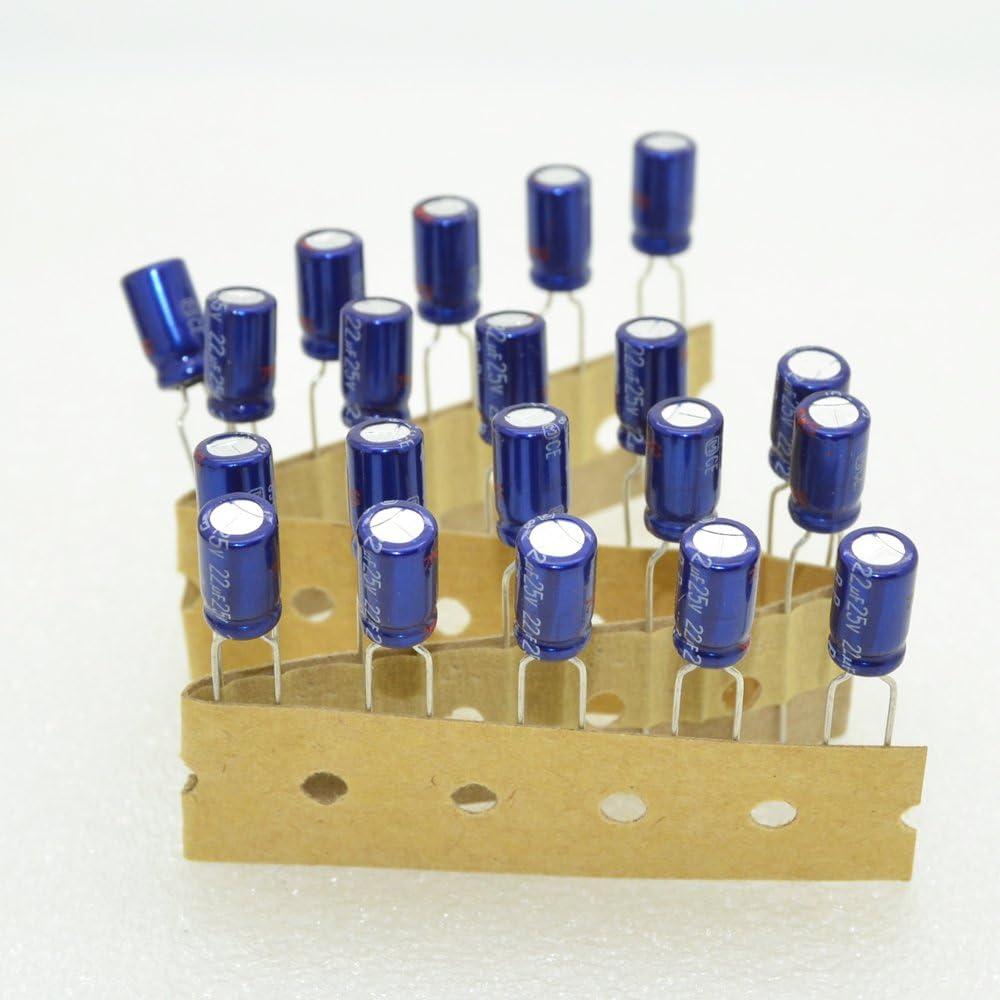 NICHICON MUSE BP 22UF 50V Audio grado condensadores electrolíticos 4 un.//10 un.//20 un.