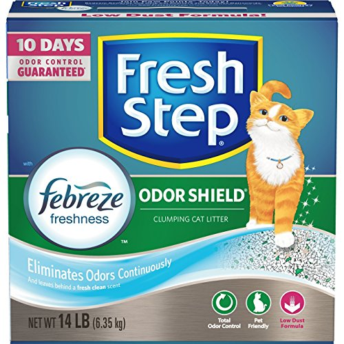 Fresh Step Febreze Freshness Clumping