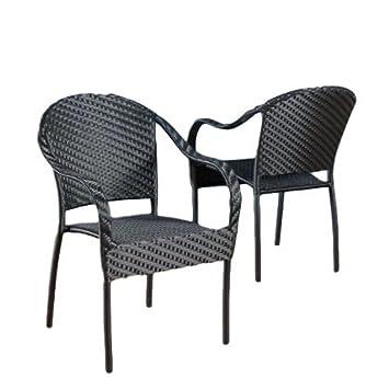 Amazon.com: STS jardín juego de muebles de salón de silla ...