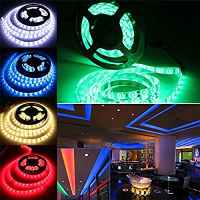 AUDEW 3M 60LED/M RGB/White/Warm White 5630 SMD High Power Waterproof LED Strip Light 12V Counter Light DIY For Home Garden Christmas Tree Wedding Party Decoration