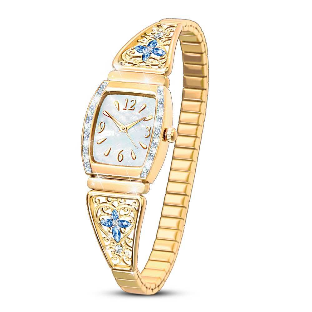 Moments Of Faith Religious Women's Watch by The Bradford Exchange