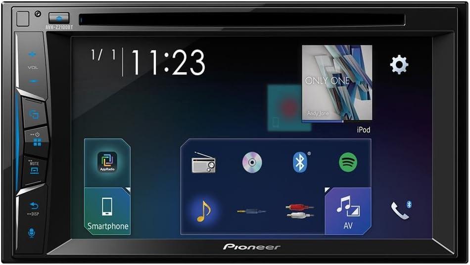 Pioneer AVH-Z2100BT - Pantalla Multimedia, Color Negro