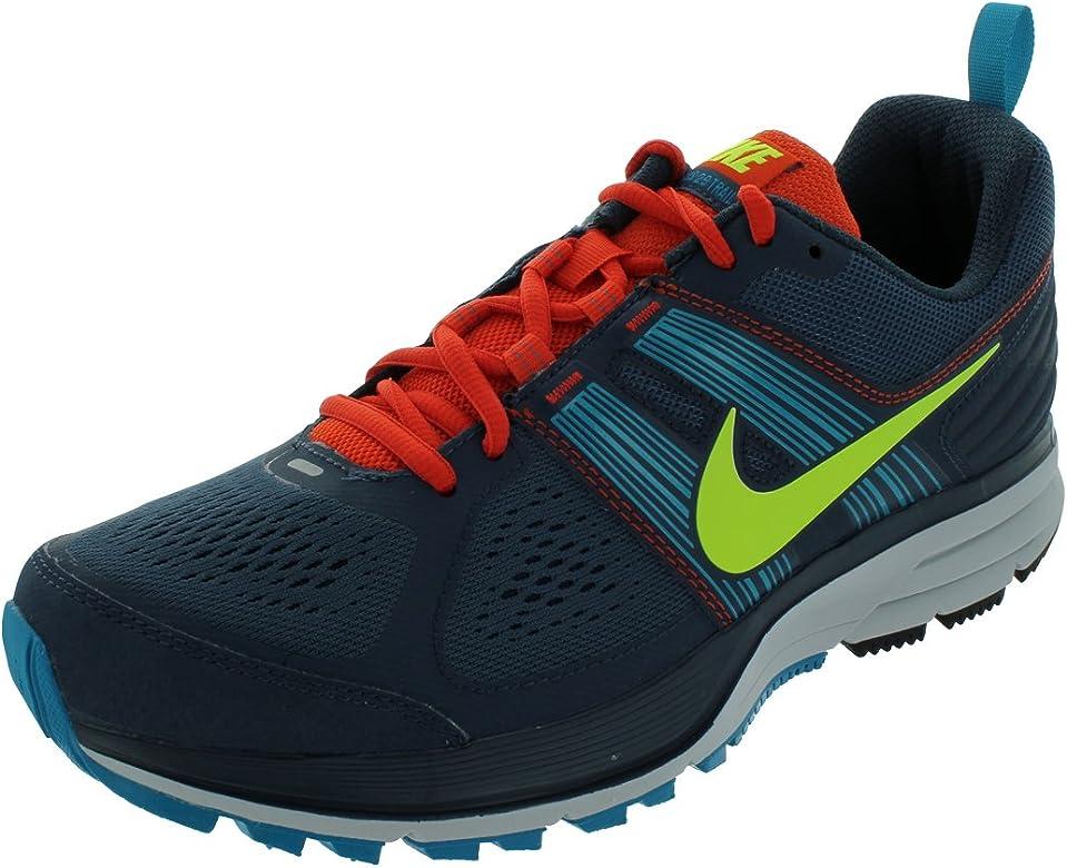 NIKE Air Pegasus+ 29 Zapatilla de Trail Running Caballero, Azul/Naranja, 42: Amazon.es: Zapatos y complementos