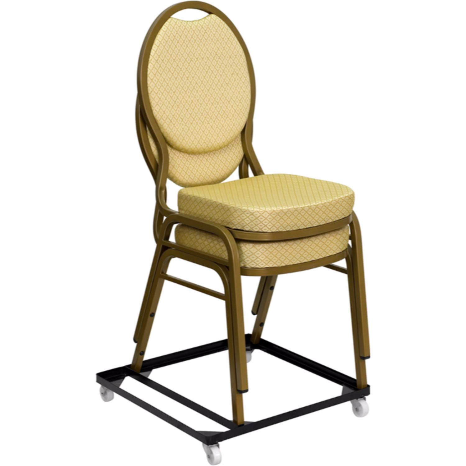 Offex of-FD-BAN-CH-Dolly-GG Hercules Series Steel Stack Chair and Church Chair Dolly