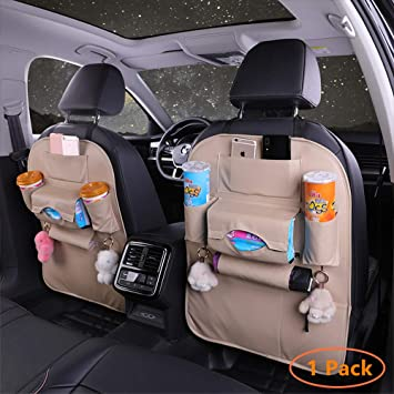 Practical Car Auto Seat Back Protector Cover For Children Kick Bag Storage Mats